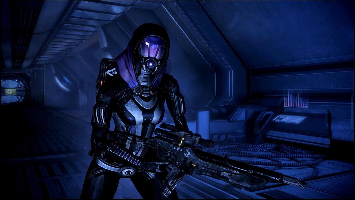 Mass Effect 3 Tali Dreamscene by droot1986