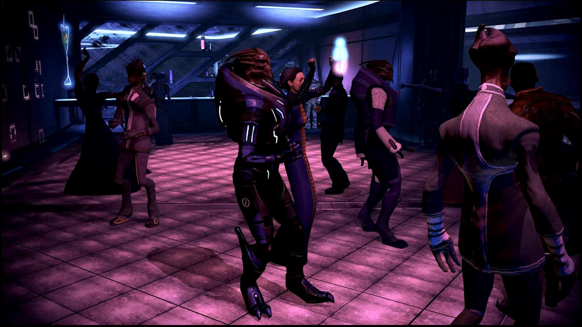 Mass Effect 3 Techno Turian Dreamscene by droot1986