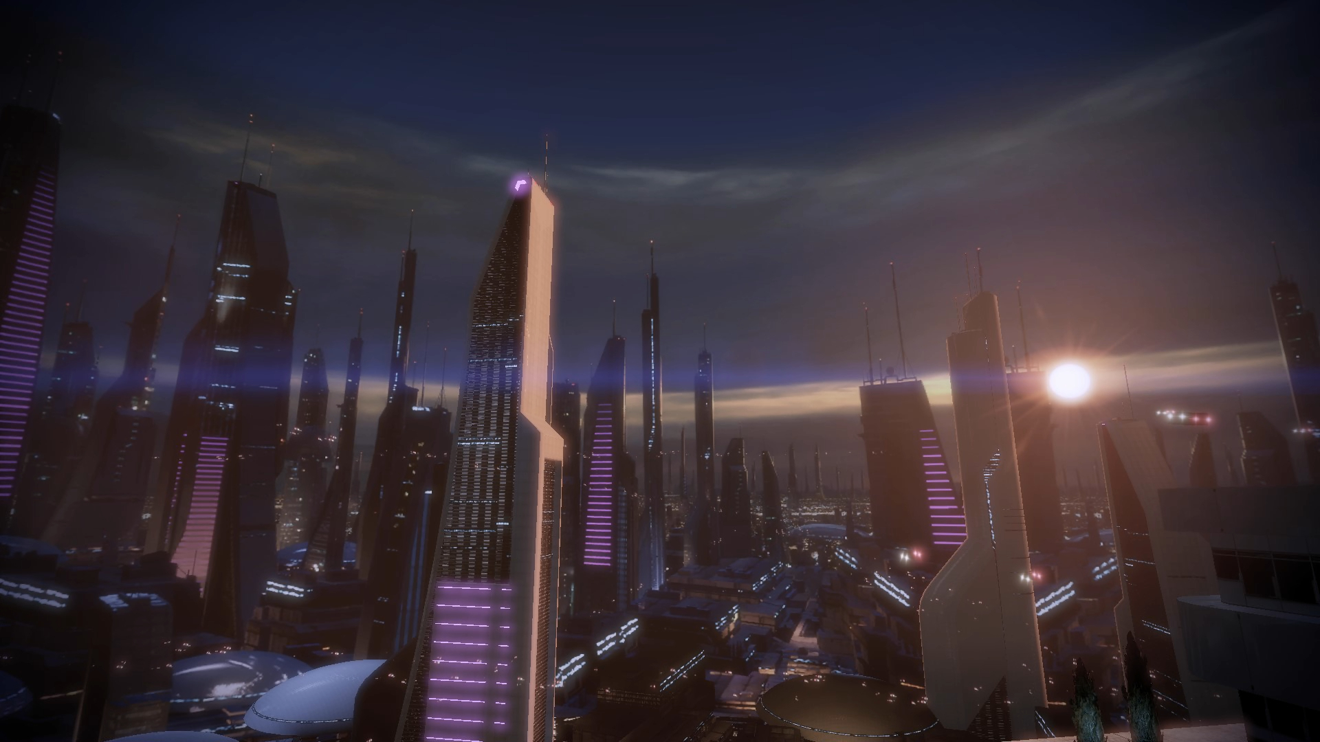 Mass Effect 2 Illium Dreamscene by droot1986 on DeviantArt