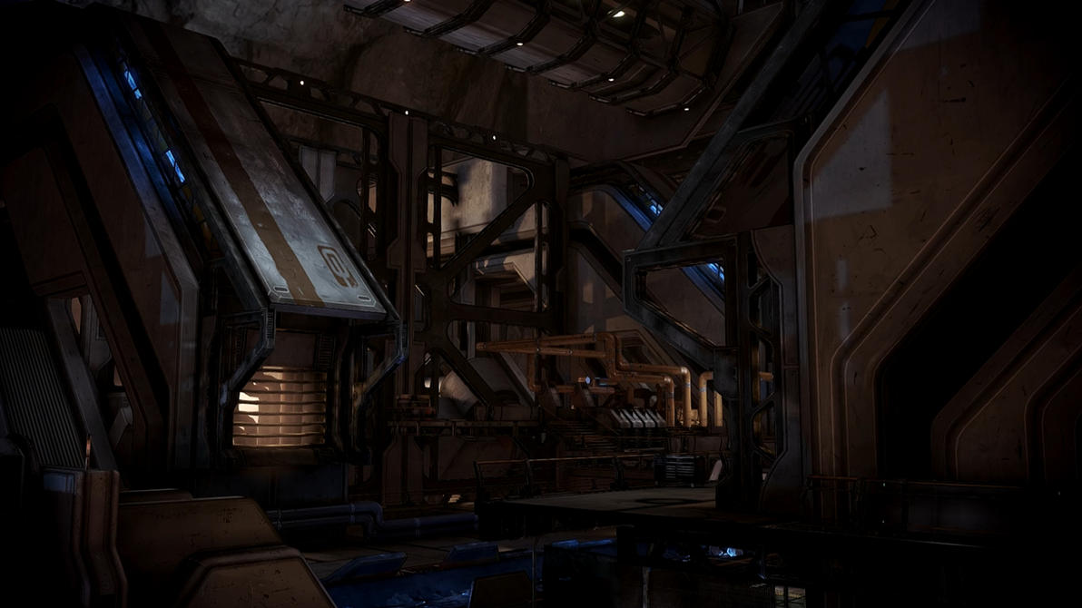 Mass Effect 3 Omega Eezo Factory 01 Dreamscene by droot1986