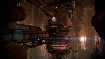 Mass Effect 3 Omega Under Attack 02 Dreamscene by droot1986