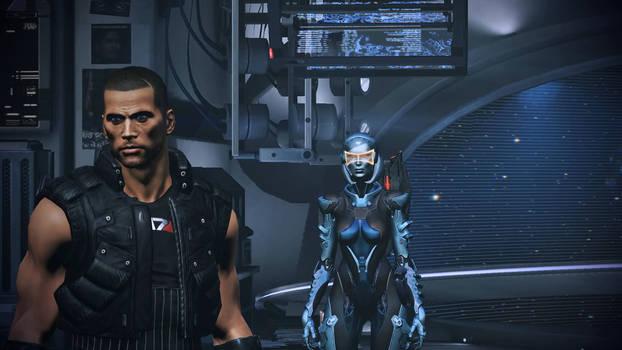 Mass Effect 3 Shep and EDI Dreamscene