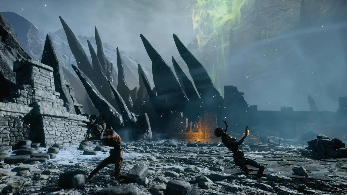 Dragon Age Inquisition Sacred Ashes 2 Dreamscene by droot1986
