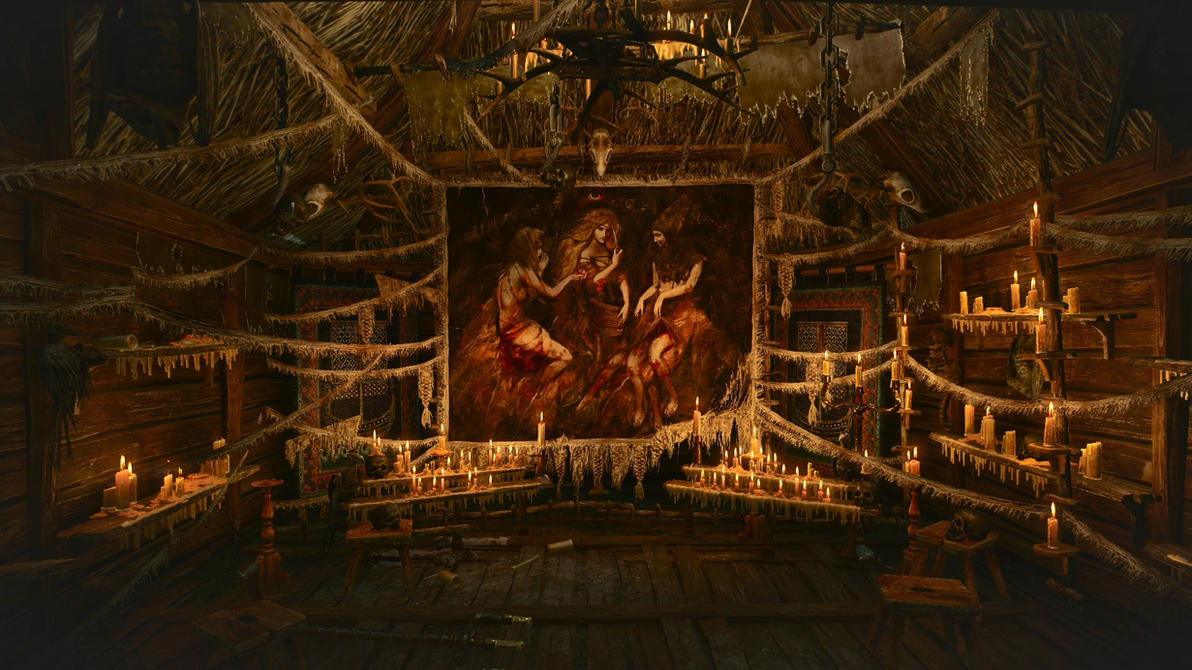 Witcher 3 Tapestry Dreamscene by droot1986