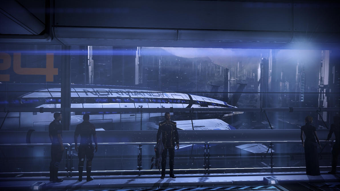 Mass Effect 3 Docking Bay Dreamscene by droot1986
