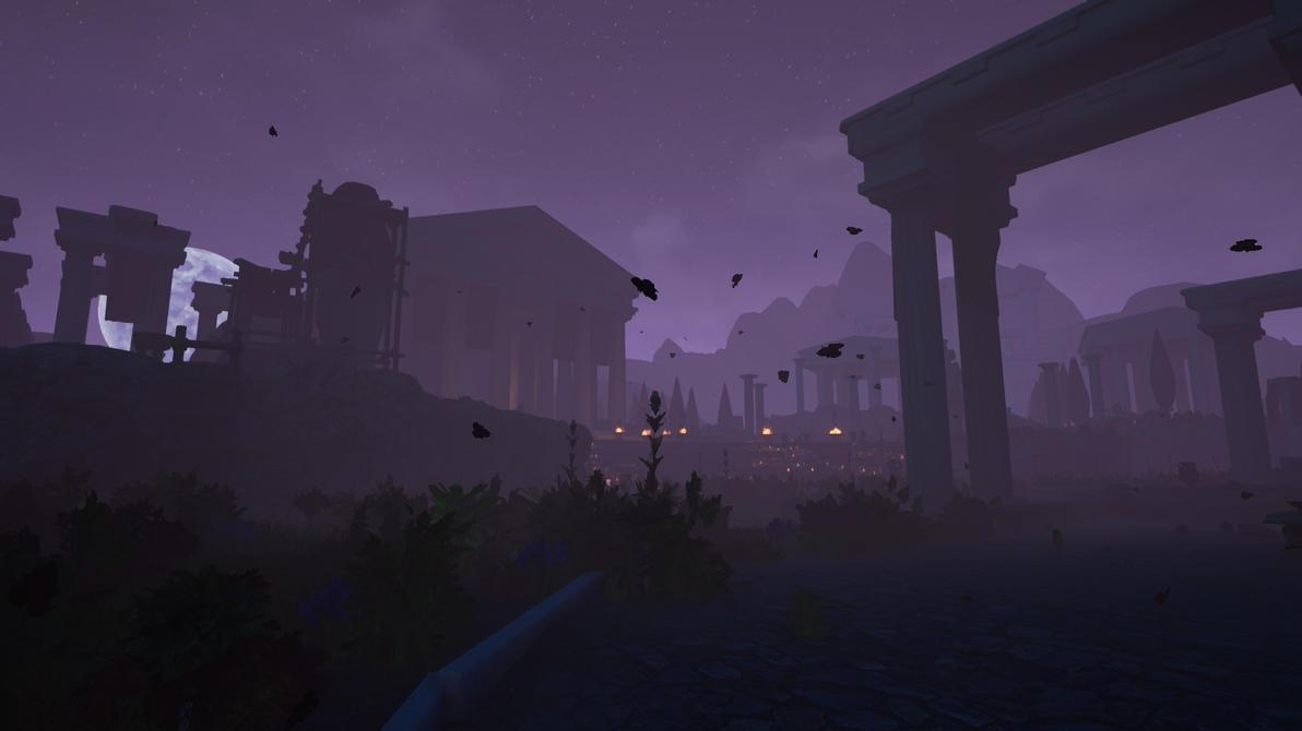 Medusa Dreamscene 01 by droot1986
