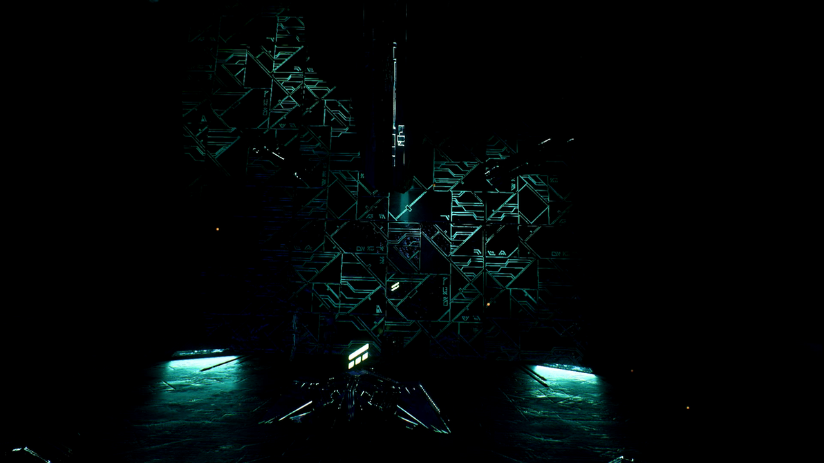Mass Effect Andromeda Remnant Vault 03 Dreamscene by droot1986