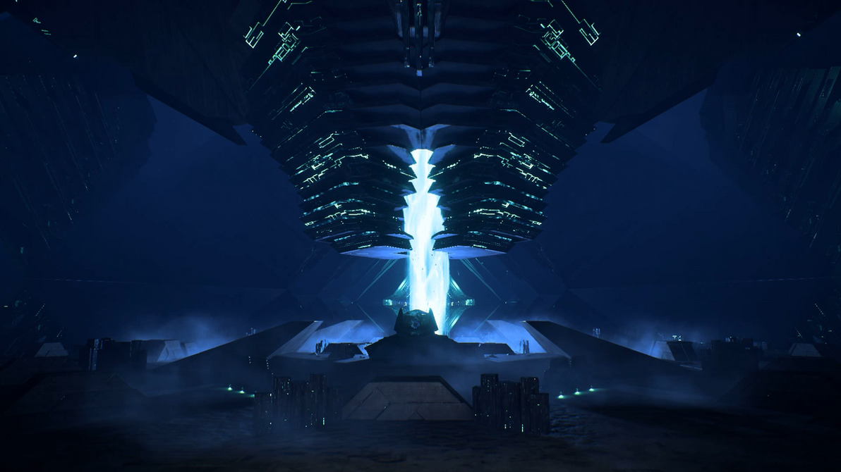 Mass Effect Andromeda Remnant Vault 06 Dreamscene by droot1986