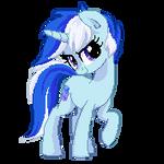 Blue Print Pixel Dolly