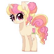 Peachy Keen Pixel Dolly