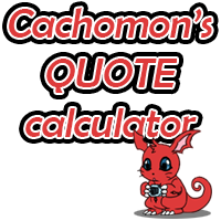 Cachomon Commissions - Quote Calculator by Cachomon