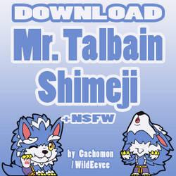 MrTalbain Shimeji [D/L] + [NSFW] by Cachomon