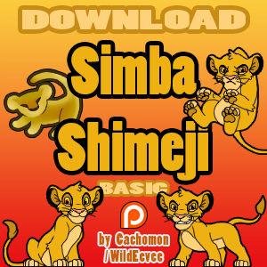 Simba Cub Shimeji [D/L]