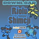 Riolu Shimeji [D/L] [+shiny] [NSFW-] [NSFW+]
