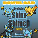 Evolvable Shinx Shimeji [D/L] [+shiny]