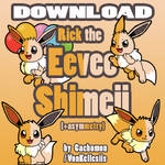 Rick the Eevee Shimeji [D/L] by Cachomon