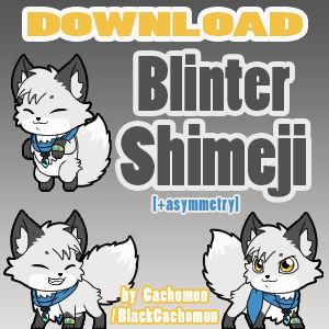 Blinter Froststorm Shimeji [D/L]