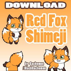 Red Fox Shimeji [D/L]