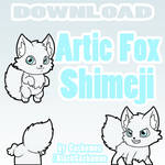 Artic Fox Shimeji [D/L]