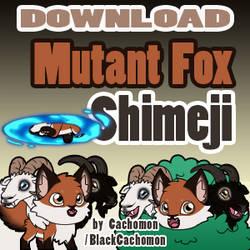 Mutant Fox Shimeji [D/L]