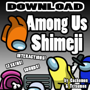 Among Us Shimeji [D/L] [+Interaction]