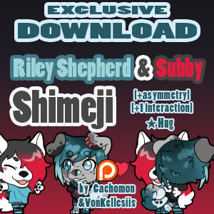 Riley + Subby Shimeji [Interaction]