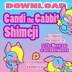 Candi the Cabbit Shimeji [D/L][Music]