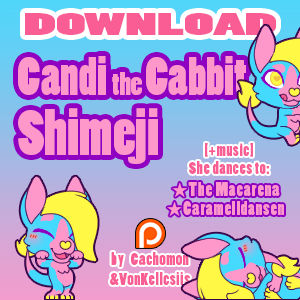 Candi the Cabbit Shimeji [D/L][Music]