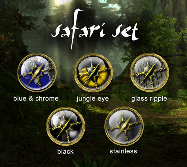 Safari set 1 by victor1410