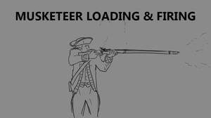 Musketeer Loading and Firing by RobbieMcSweeney
