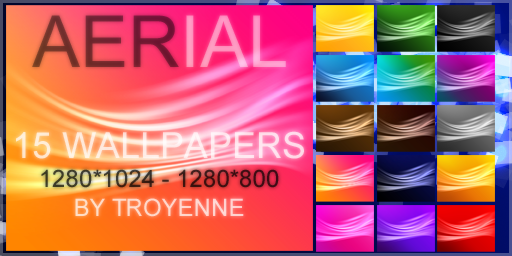 Aerial Wallpaper Pack by Troyenne