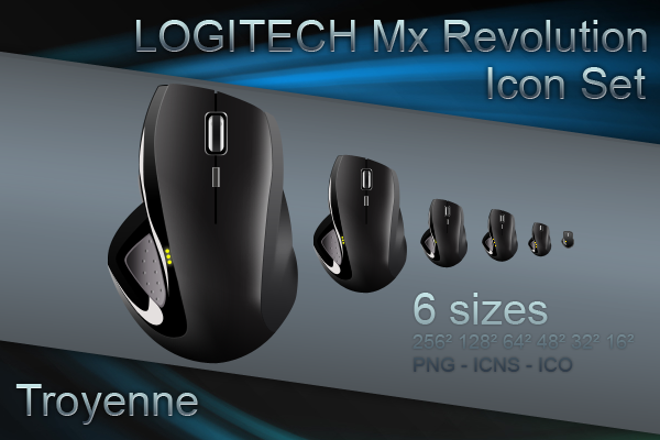 Logitech MX Revolution by Troyenne