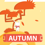 Orbital Autumn Scene Animation by Ayjun-invayjun