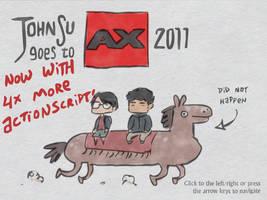 JohnSu Goes to AX 2011