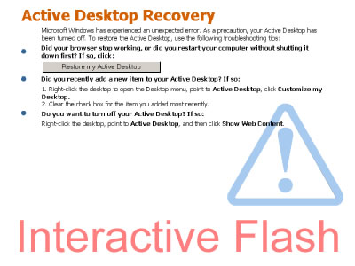 Active Desktop Recovery