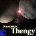 Planet Brush by thengy