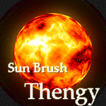 Sun Brush by thengy