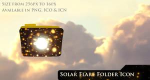 Solar Flare Folder Icon
