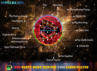 RED Party Mode Skin by 878952