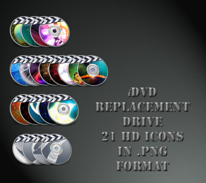 iDVD Replacement Drive by 878952