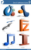 Dre-S Software Icons 9 by piscdong