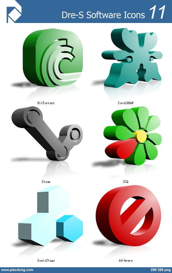 Dre-S Software Icons 11 by piscdong