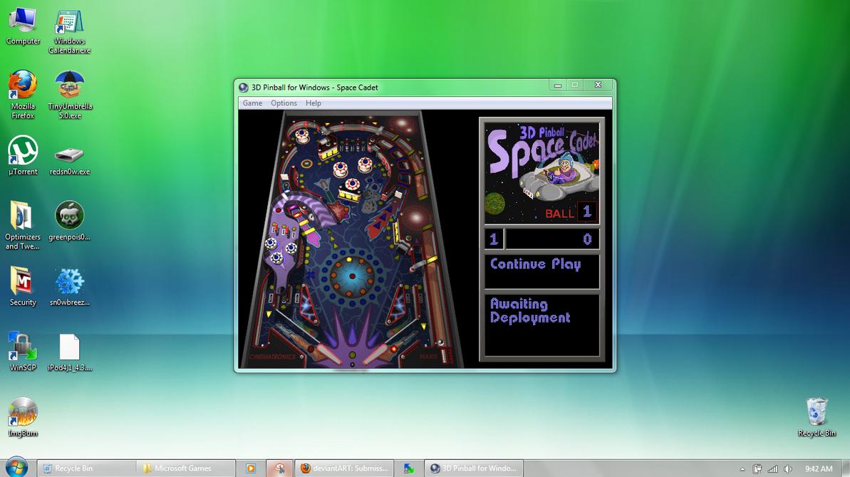 gratuitement pinball 3d space cadet