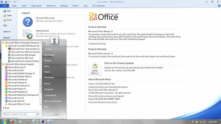 Microsoft Office 15 - Mondo by scritperkid2