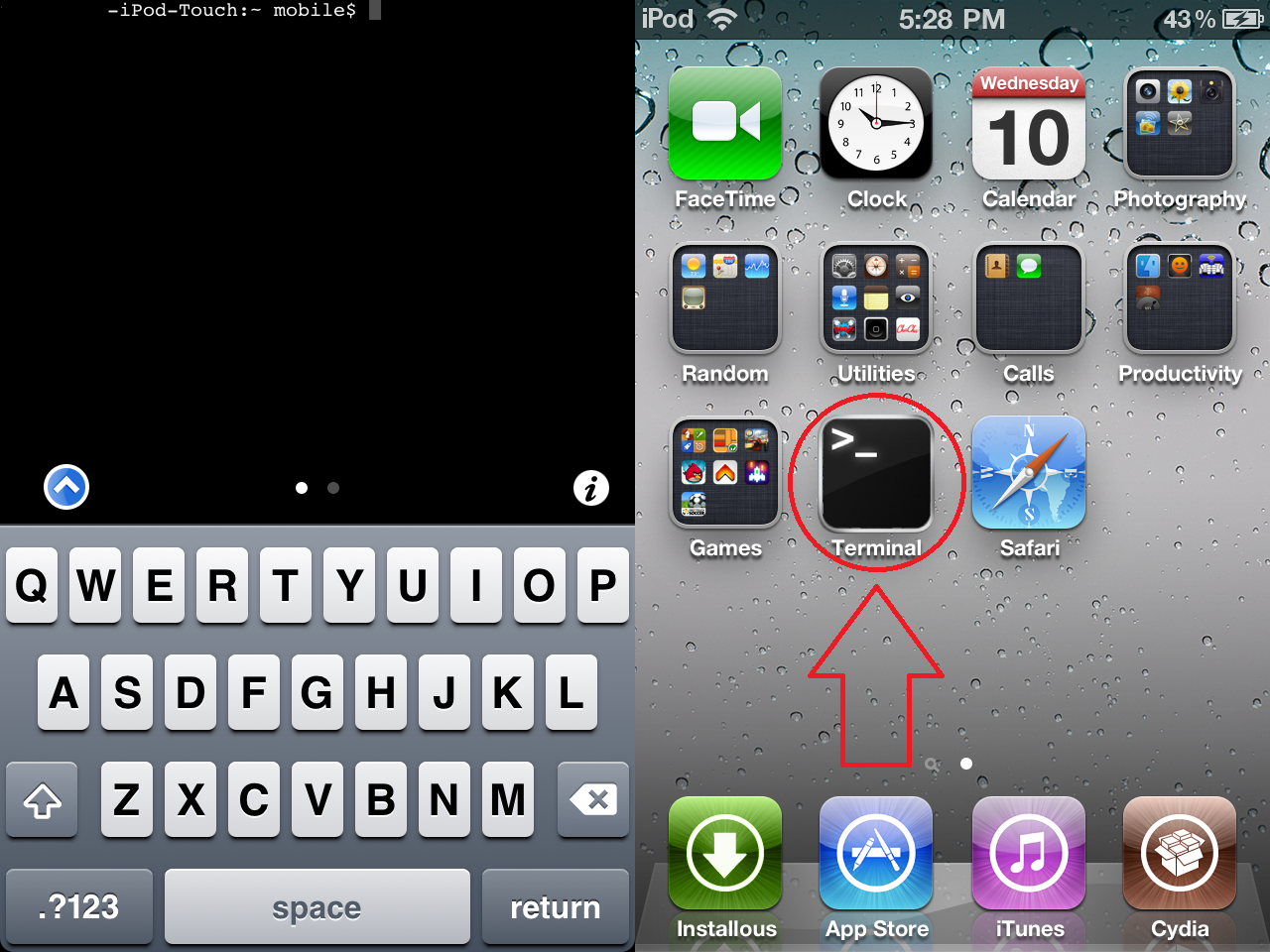 Mobile Terminal for iOS 4+ by scritperkid2 on DeviantArt