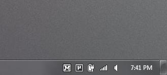 MalwareBytes Tray Icon