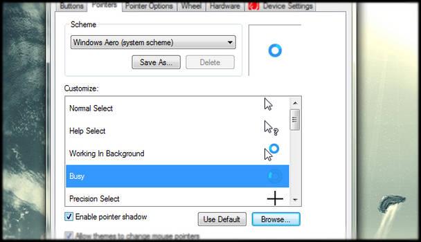 Windows 8 RP Cursors for Windows 7/Vista/XP