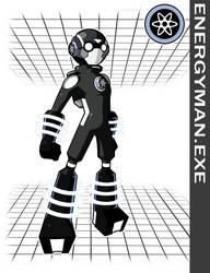 Energyman.EXE by Higure-san