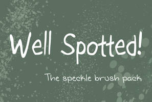 Speckle Brush Pack