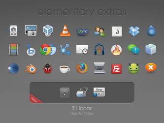 elementary extras Icons